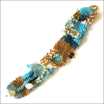 Sharon Argabright Jewelry Designs Bracelets Free Form Seed Bead